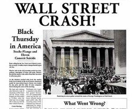Stock Market Crash of 1929